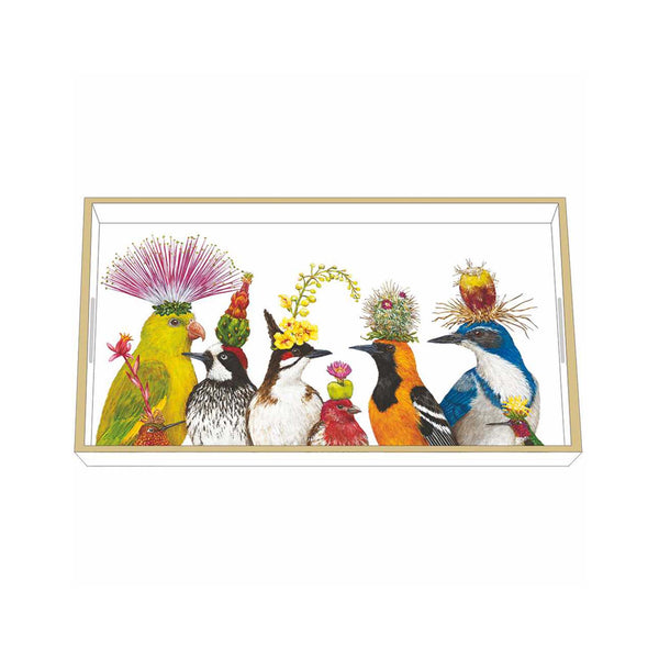 Vicki Sawyer Wooden Accent Tray - The Entourage