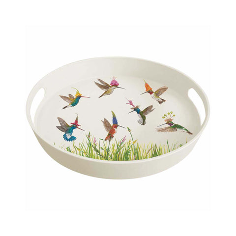 Vicki Sawyer Bamboo Tray - Meadow Buzz