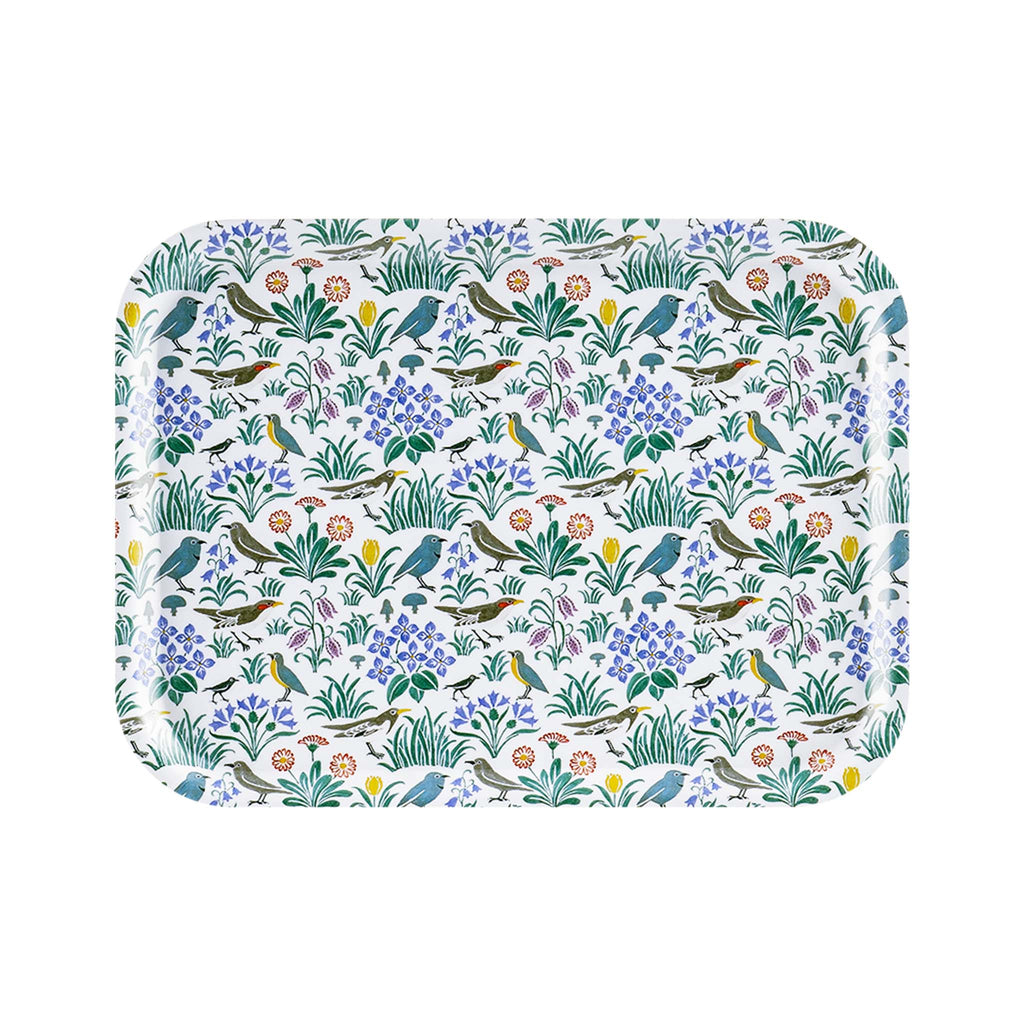 Swedish Laminated Rectangle Tray - C.F.A. Voysey