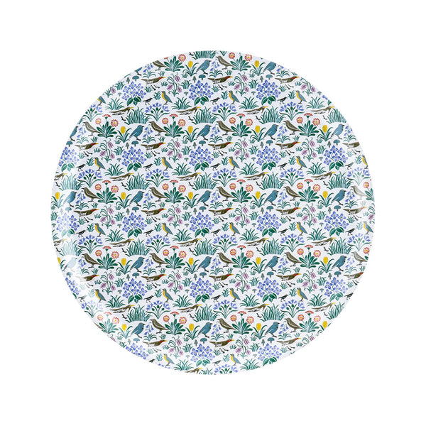 Swedish Laminated Round Tray -  C.F.A. Voysey