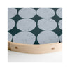 PilgrimWaters Handcrafted Round Tray - Dot - Detail