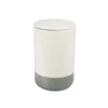 Stoneware Container - Grey & White - Large