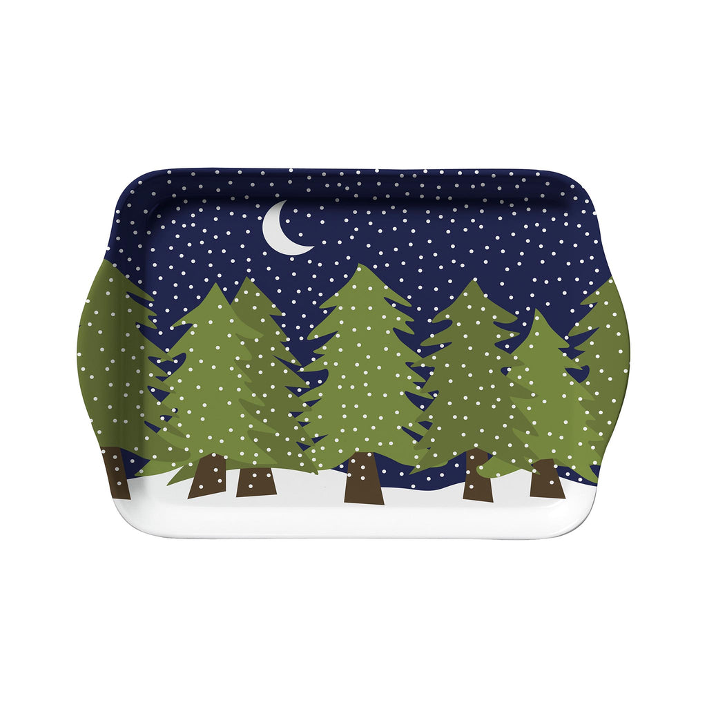 Kate Nelligan Midnight Snow Snack Tray