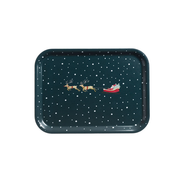 Home for Christmas Tray - Small
