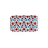 Poppy Rectangle Melamine Trays - Small - Blue