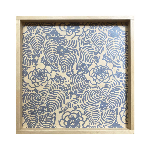 LAMOU Baltic Birch Printed Serving Tray - Mums
