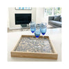 LAMOU Baltic Birch Printed Serving Tray - Mums - lifestyle