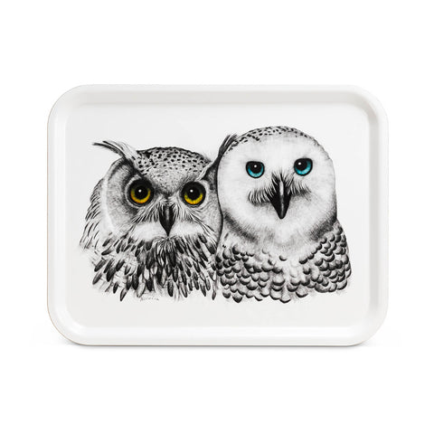 Owl Contemplation Tray