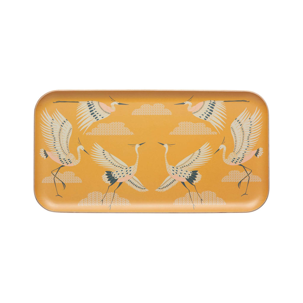 Flight of Fancy Willow Wood Large Tray