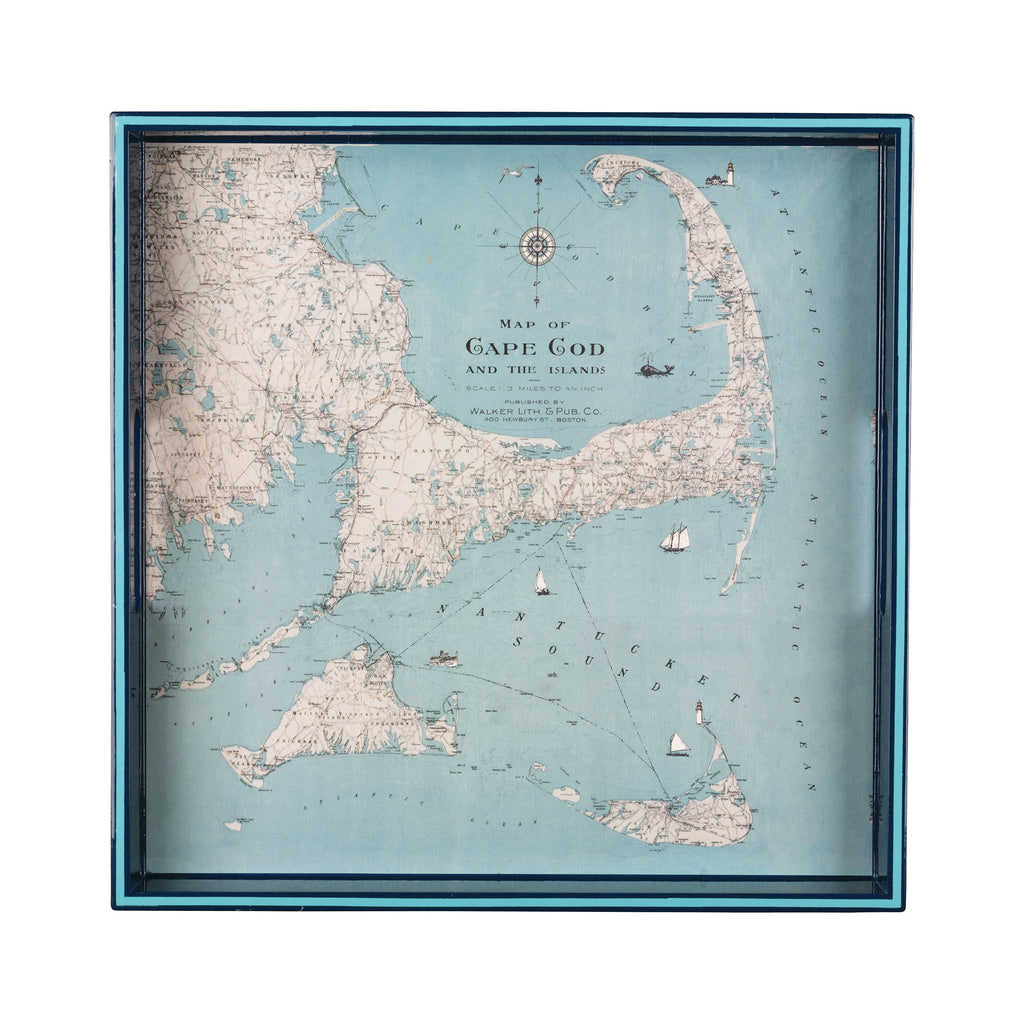 Cape Cod & Islands Tray