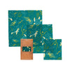 Bee's Wrap Assorted Wrap Set of 3 - Oceans Print