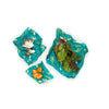 Bee's Wrap Assorted Wrap Set of 3 - Oceans Print - in use