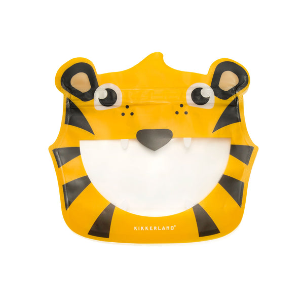 Animal Zipper Bags - Tiger