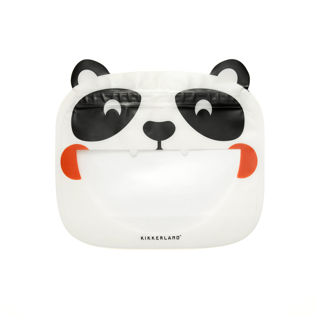 Animal Zipper Bags - Panda