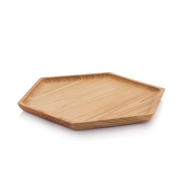 Cedarwood Hex Tray - Large