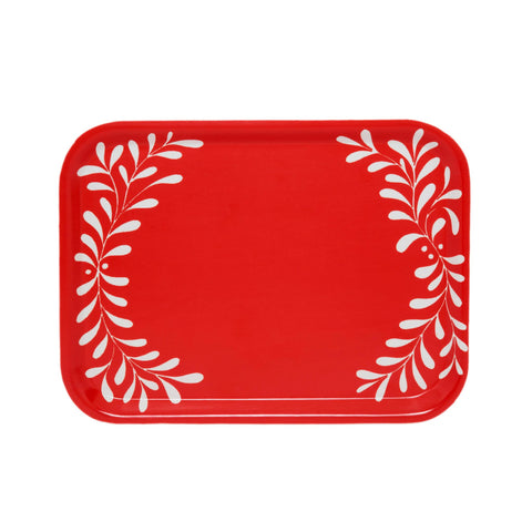 Fiona Howard Birchwood Tray - Red Love