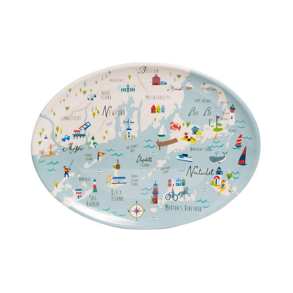 Northern Shore Melamine Platter
