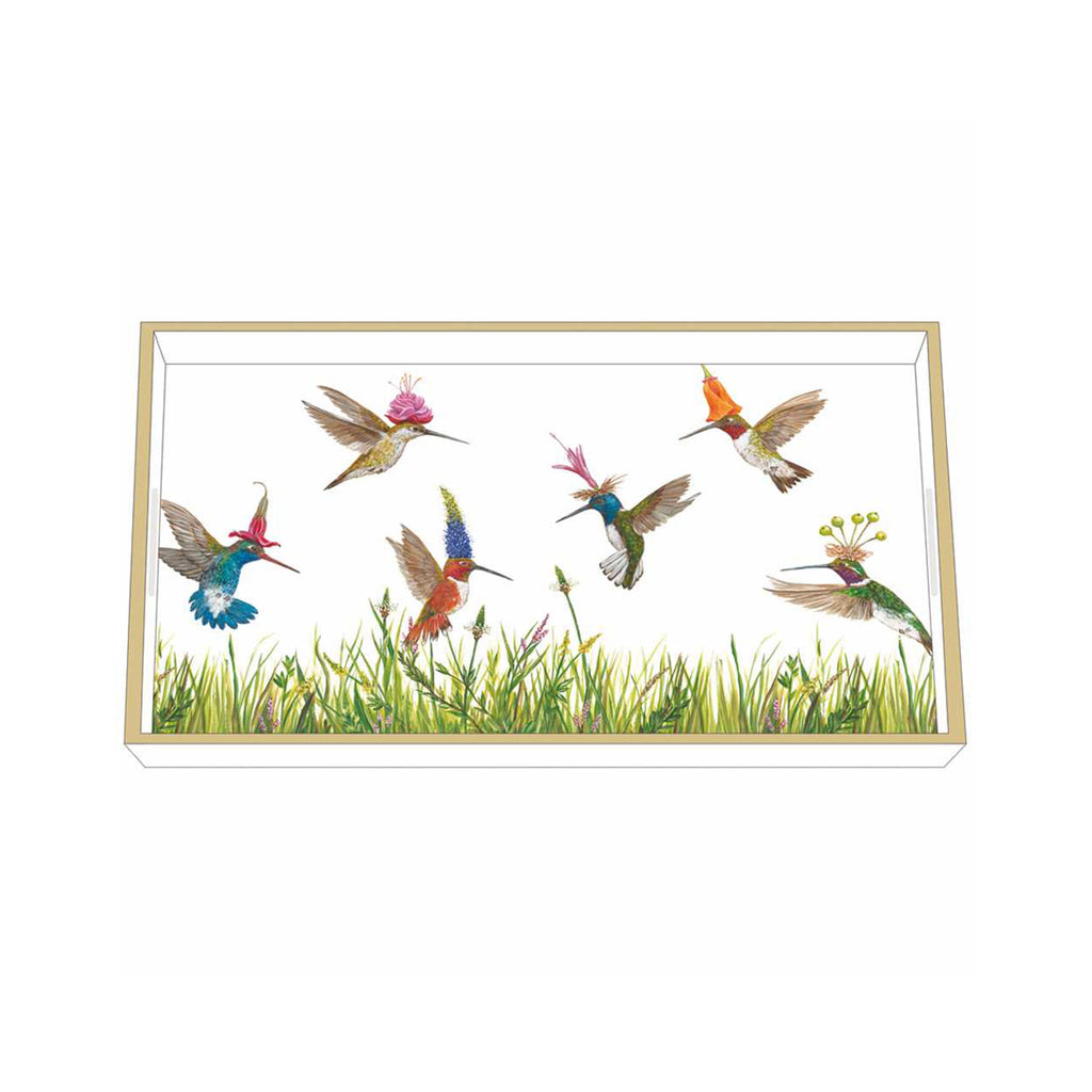 Vicki Sawyer Wooden Accent Tray - Meadow Buzz