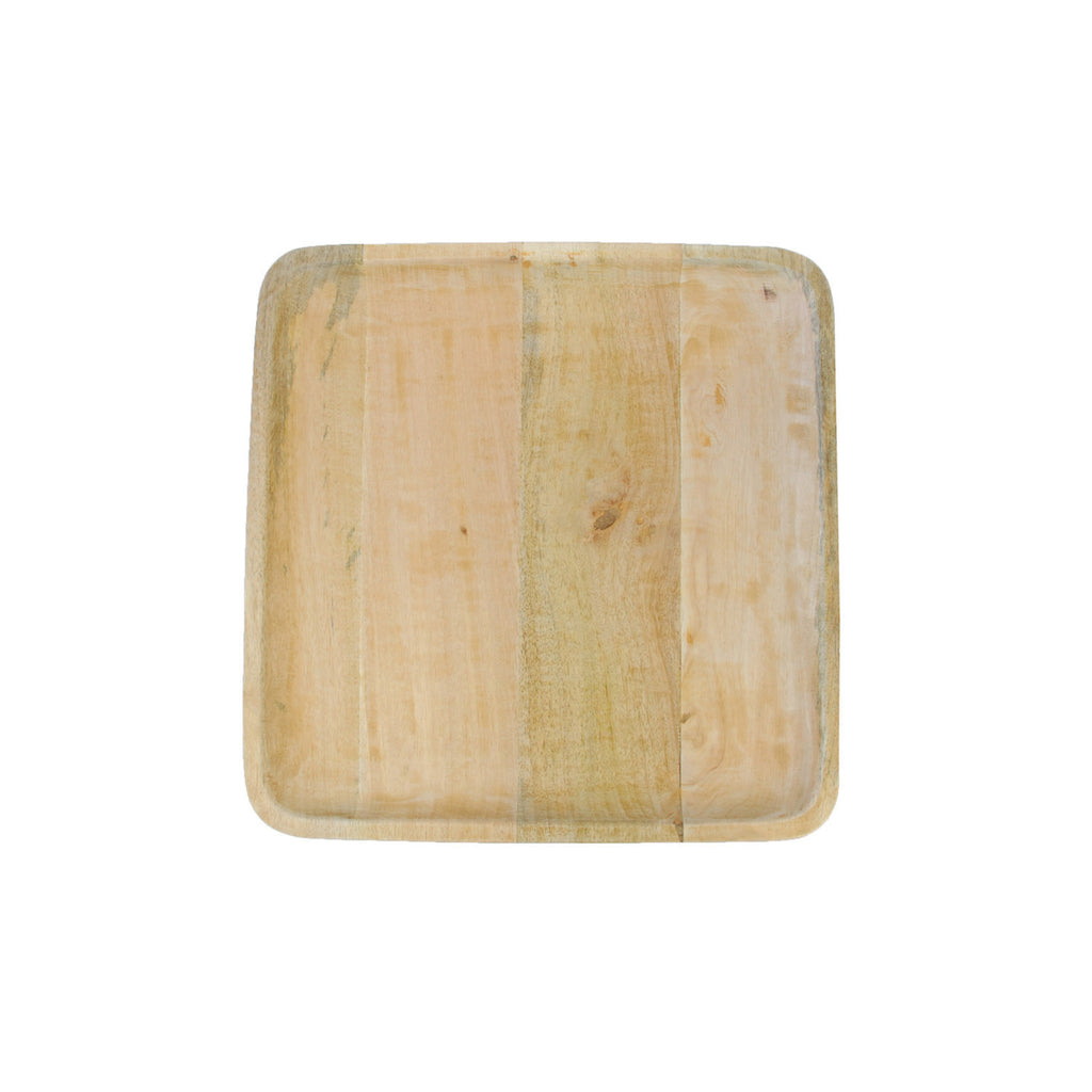 Mango Wood Square Platter - Large