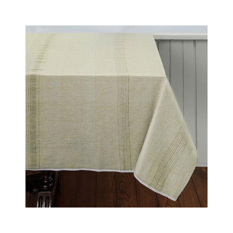 Hand-woven Cotton Tablecloth - Fennel
