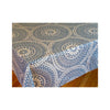 Acrylic-coated French Tablecloth - Arabic Blue
