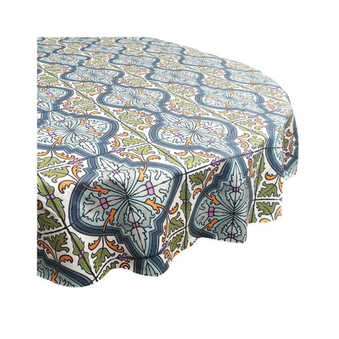 Laminated Cotton Tablecloth - Cypress