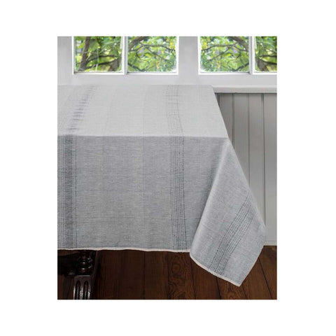 Hand-woven Cotton Tablecloth - Sea Salt
