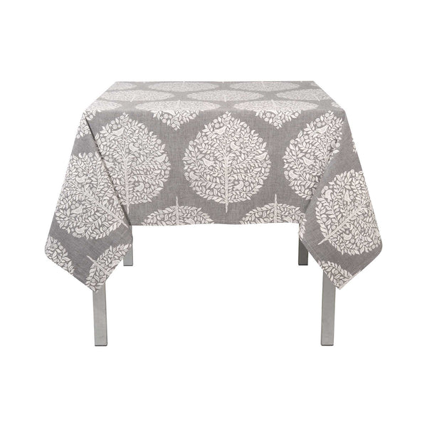 Elmwood Chambray Tablecloth   60 X 60