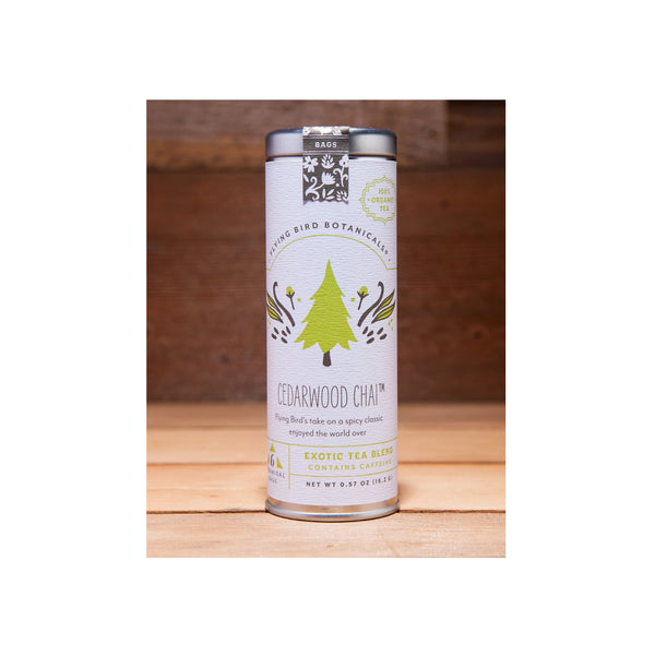Flying Bird Botanicals Cedarwood Chai Tea