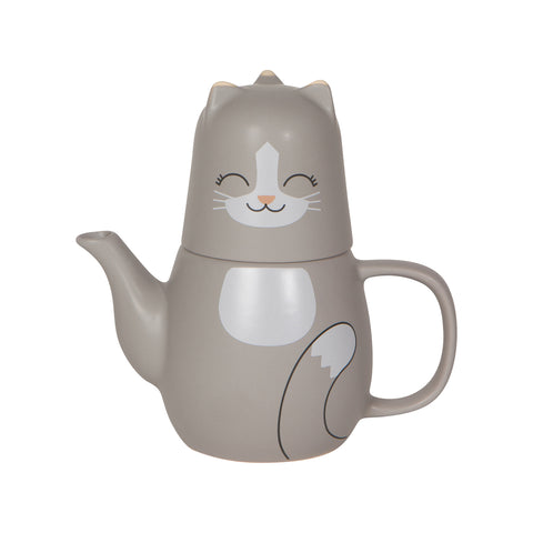 Animal Teapots - Cat
