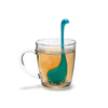 Baby Nessie Tea Infuser - in use - purple only