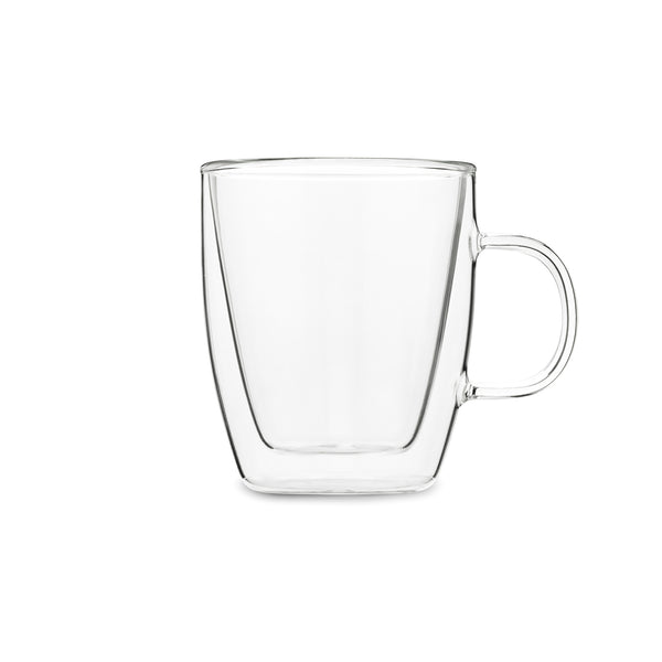 Double Walled Glass Tea Mug