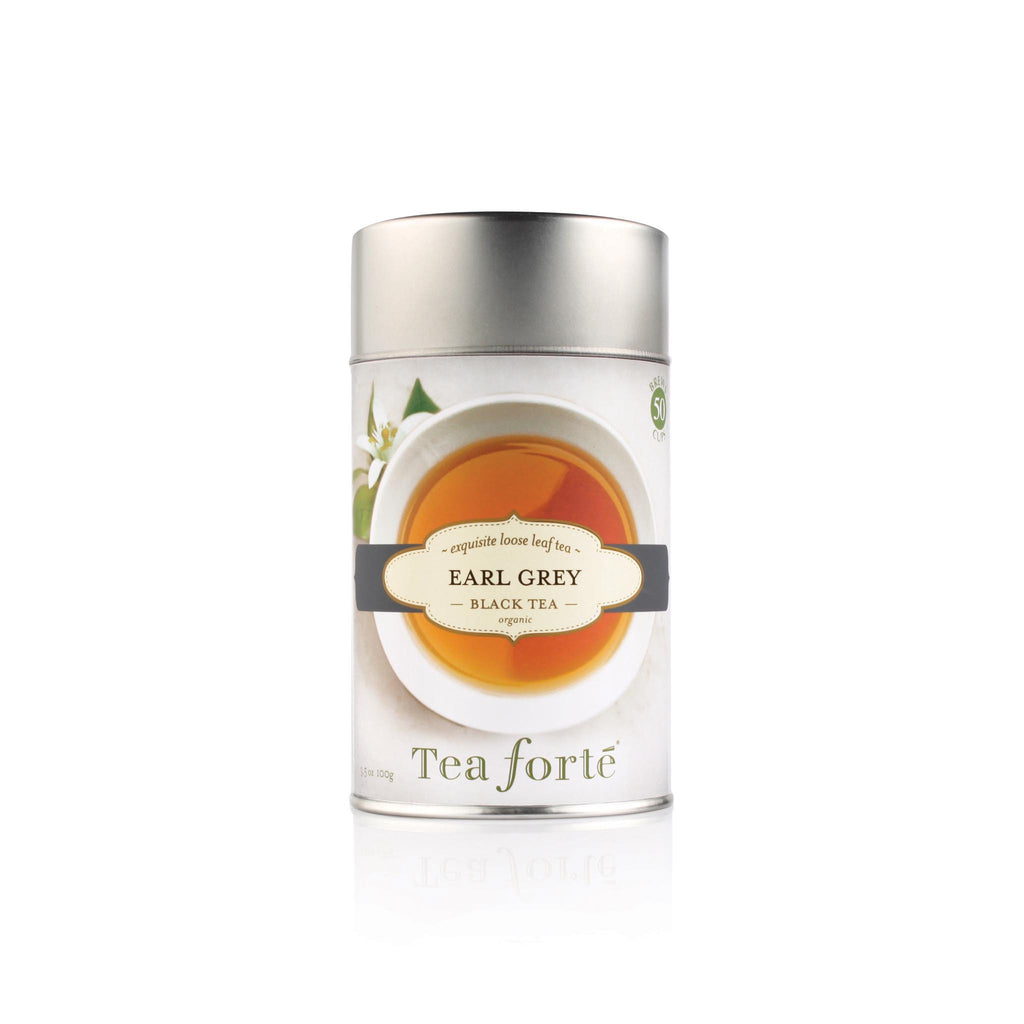 Tea Forte Loose Leaf Tea Canister - Earl Grey