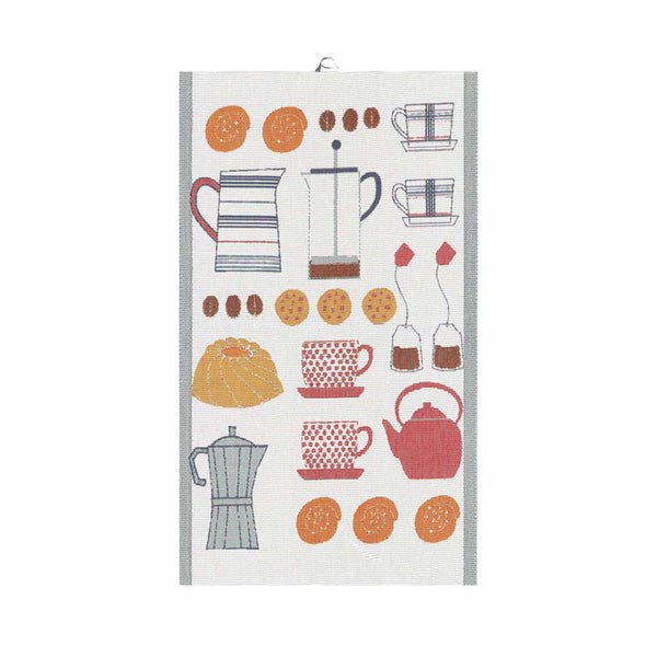 Ekelund Extra Large Kitchen Towel - Coffee & Tea