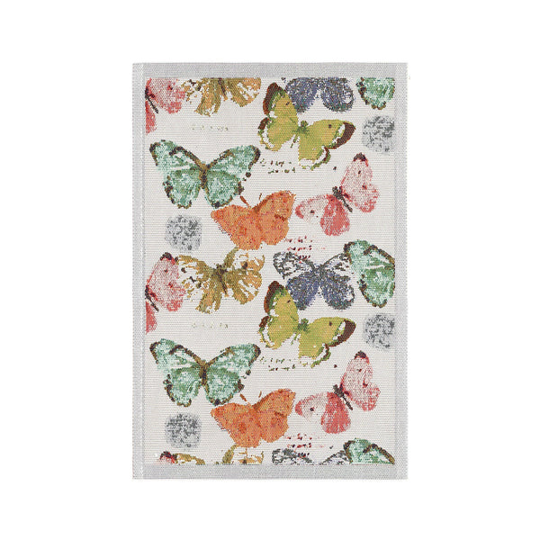 Ekelund Extra Large Kitchen Towel - Butterflies Kaleidoscope
