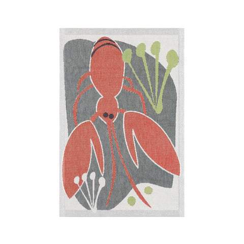 Ekelund Extra Large Kitchen Towel - Crayfish