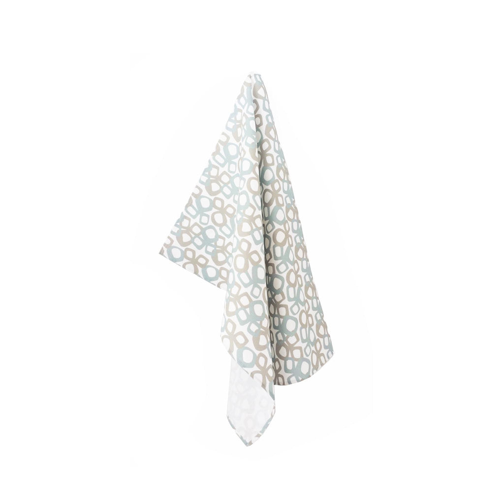 Lupin Studio Tea Towel - Bow - Stone