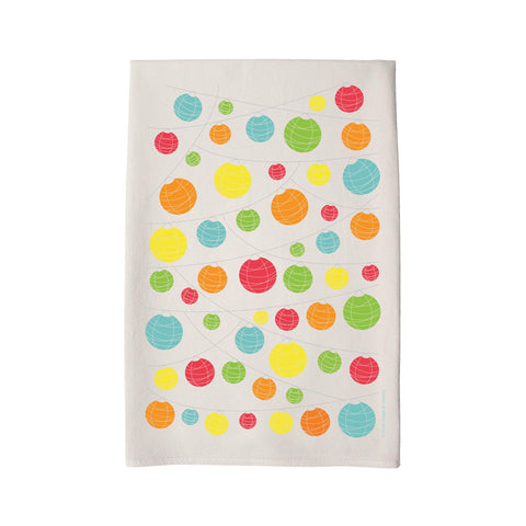 Coast & Cotton Tea Towel - Lanterns