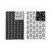 Bitmap Tea Towels Set of 2 - Black/White Reverse