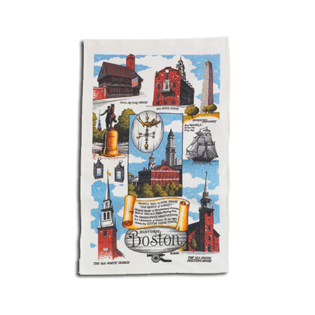 Historic Boston Tea Towel