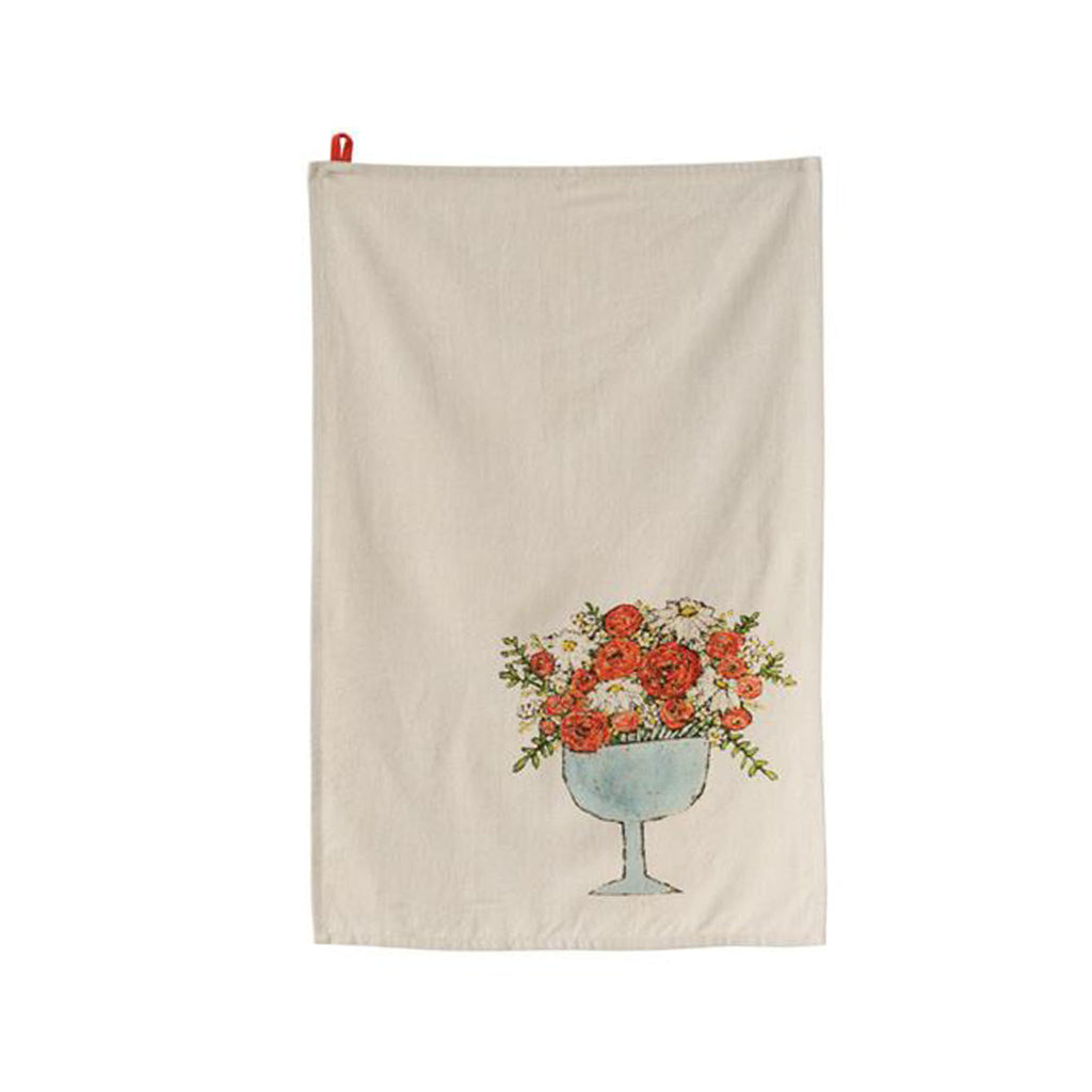 Floral cotton tea towels floral cotton tea towel bouquet izmirmasajfo