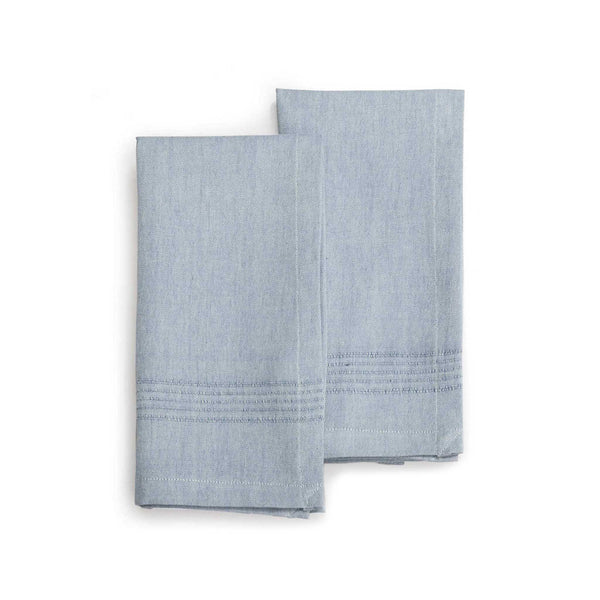 Hand-woven Cotton Napkins Set of 2 - Berry