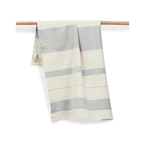 Hand-woven Cotton Kitchen Towel - Blueberry