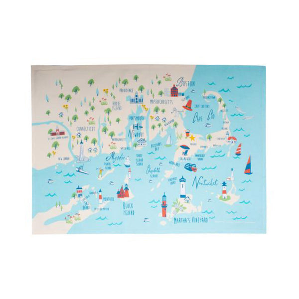 Northern Shores Tea Towel