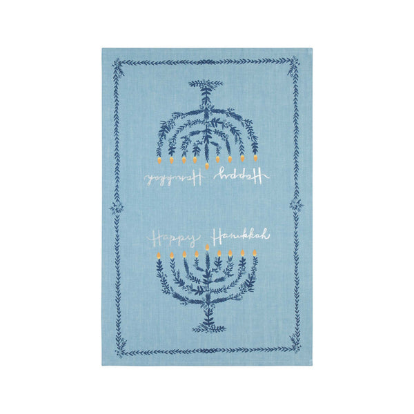 Happy Hanukkah Dishtowel - Towel 1