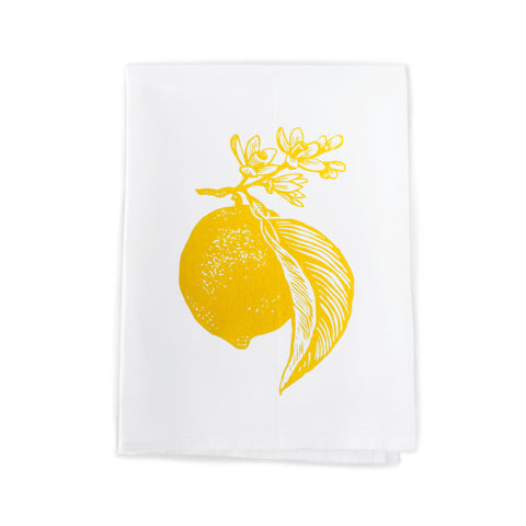 Rigel Stuhmiller Tea Towel - Lemon