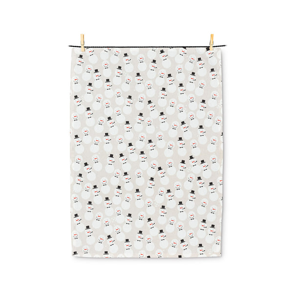 Snowmen Tea Towel