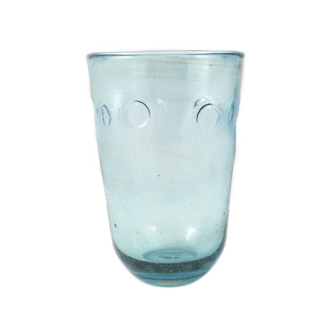Aqua Eye Glass Vase