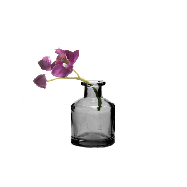 Loft Bud Vase Collection - Grey Bottle