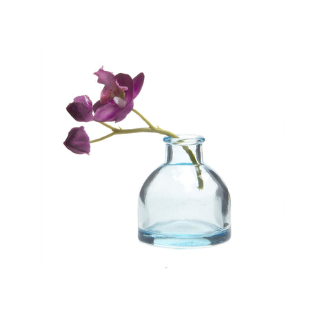 Loft Bud Vase Collection - Blue Round
